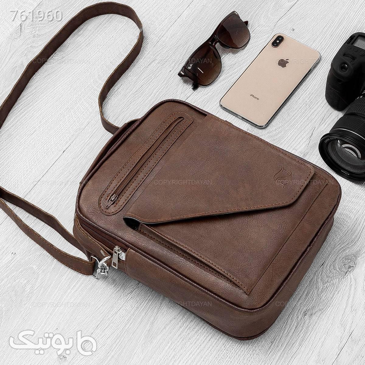 کیف مردانه نایک  قهوه ای كيف مردانه