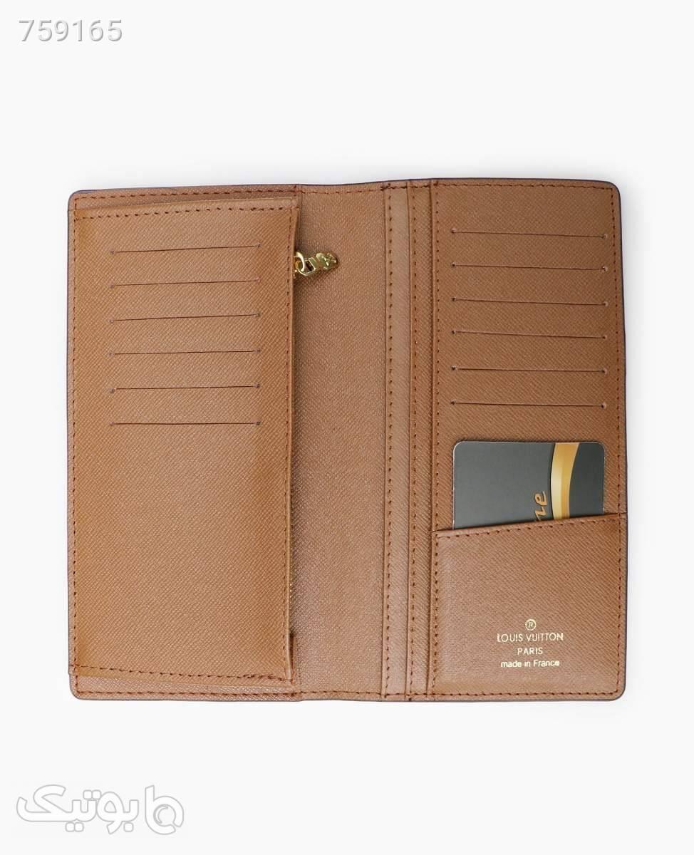 کیف پول Louis Vuitton کد 8407Brown قهوه ای کیف پول و جا کارتی