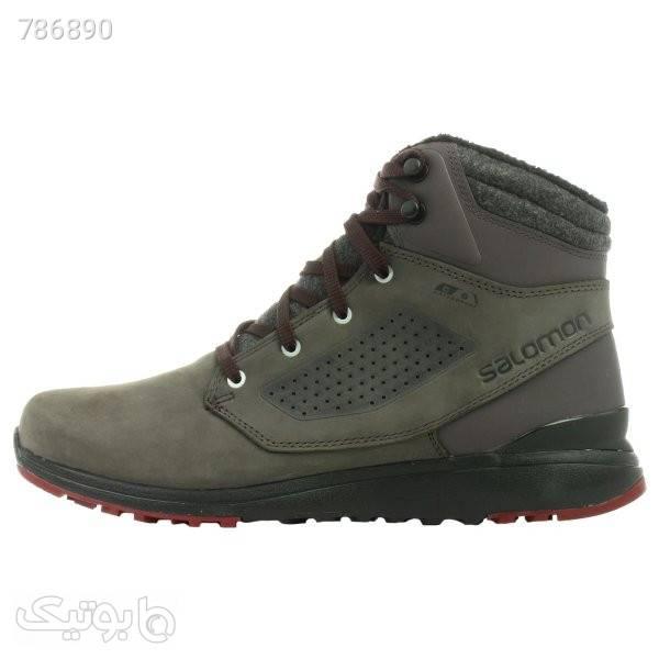 کفش کوهنوردی مردانه سالومون مدل 407975 MIRACLE طوسی بوت مردانه