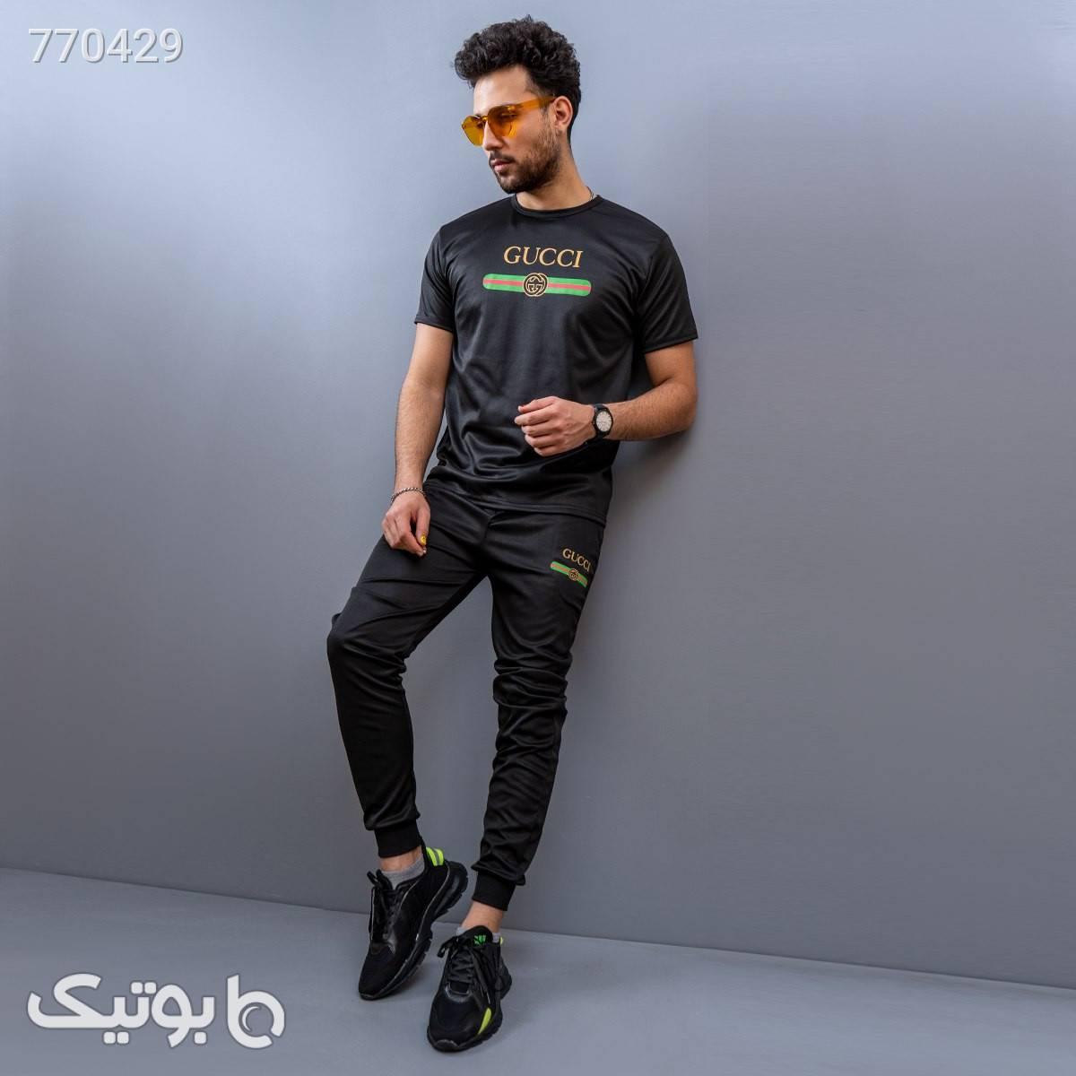 ست تيشرت شلوار Puma مردانه مدل Zarad زرد تی شرت و پولو شرت مردانه