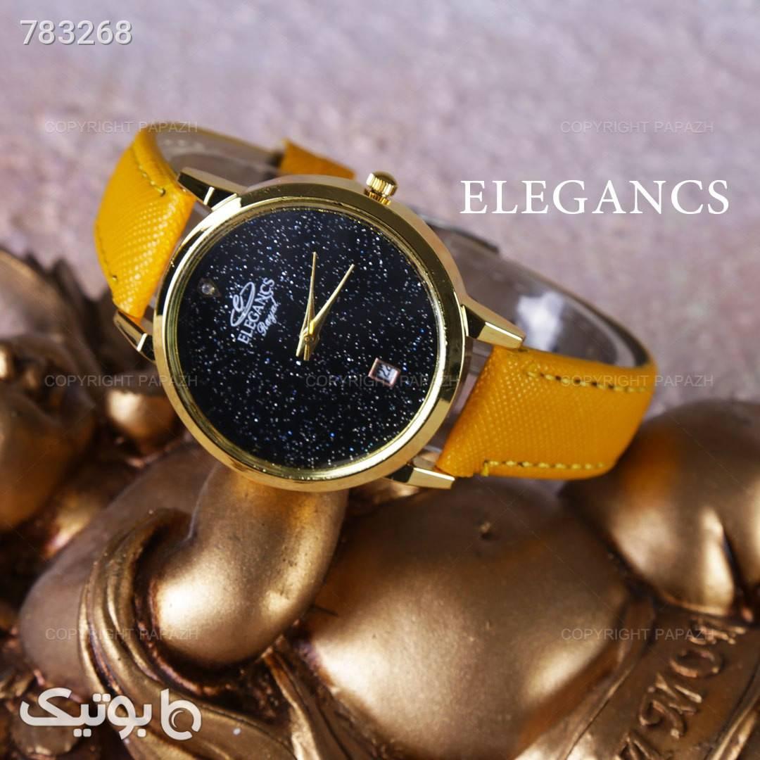 ساعت مچی زنانه ELEGANCS مدل 1340 قرمز ساعت