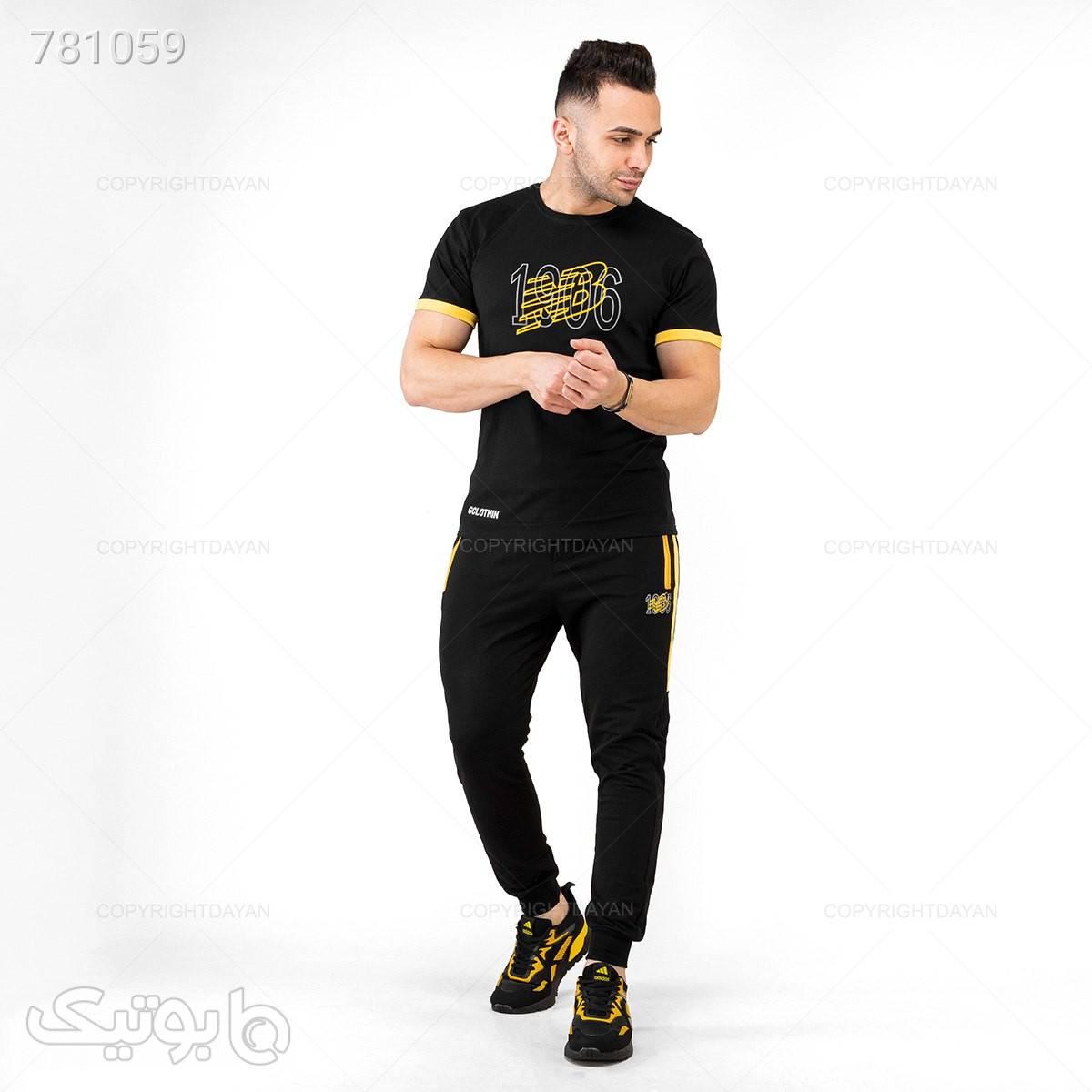 حراج تیشرت و شلوار نیوبالانس سورمه ای ست ورزشی مردانه