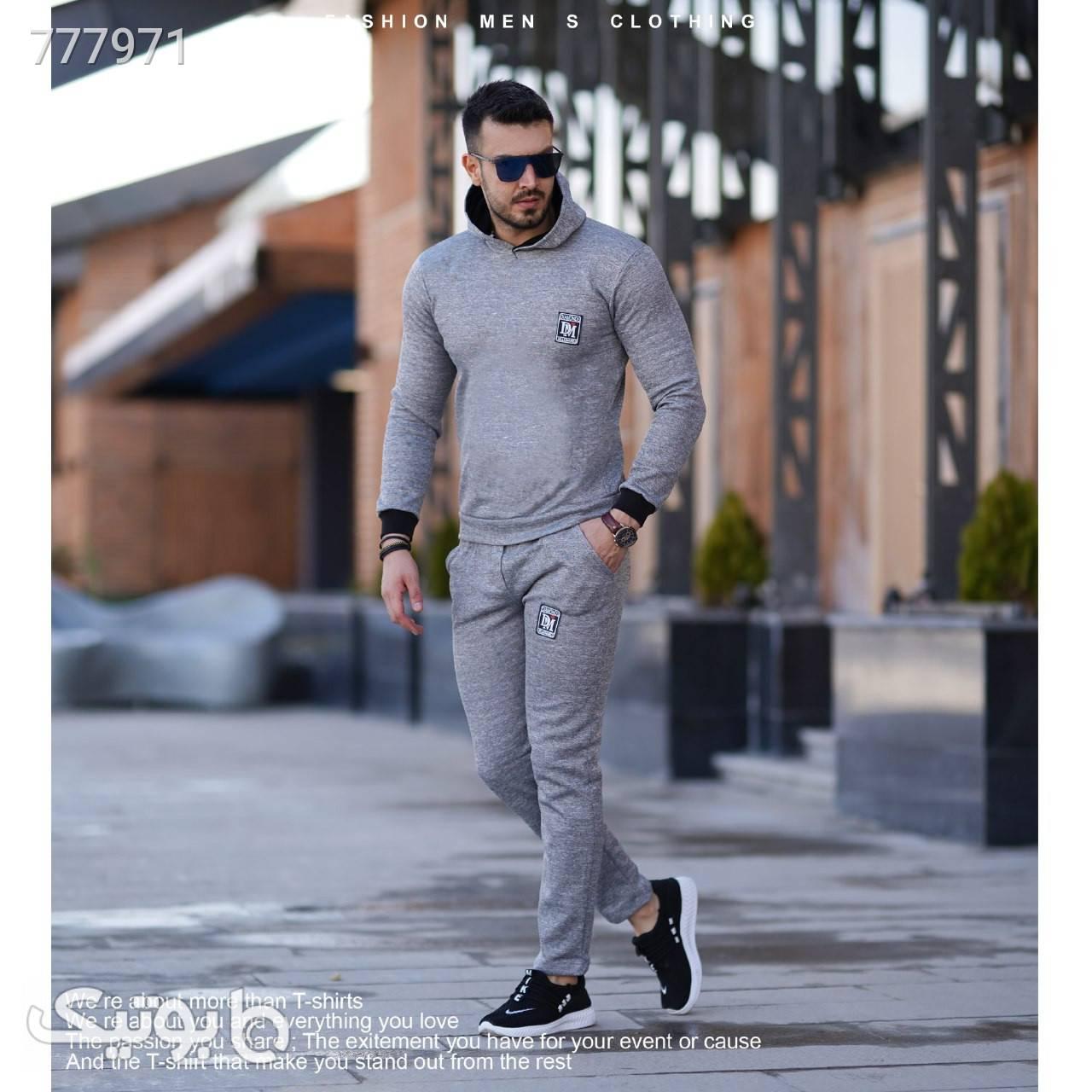 ست سوییشرت و شلوار fox سورمه ای ست ورزشی مردانه