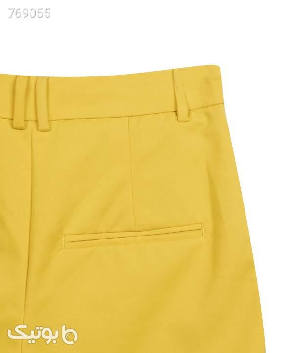 شلوارک زنانه اونلی Only مدل Peni Tailor زرد شلوارک زنانه
