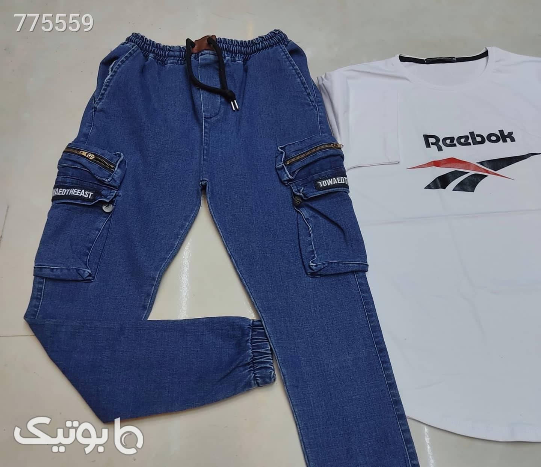 شلوار جین سورمه ای شلوار جین مردانه