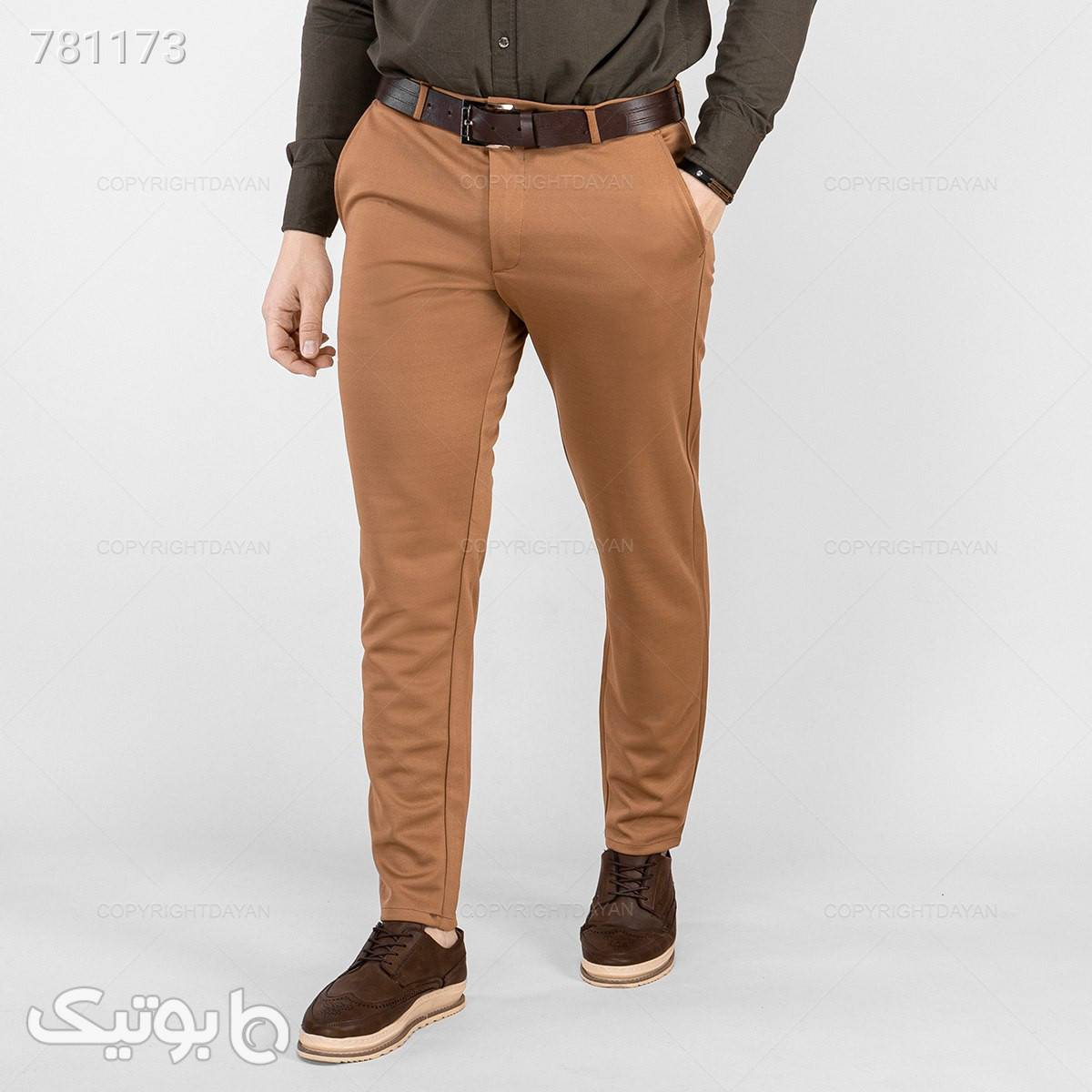 شلوار مردانه ایماز  سورمه ای شلوار مردانه پارچه ای و کتان مردانه