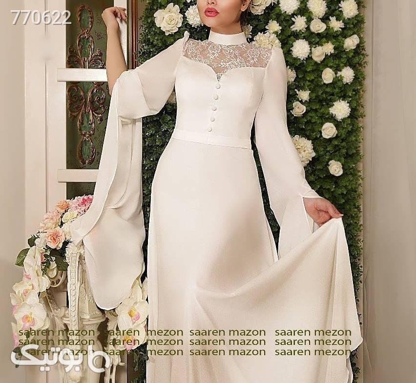 مدل عقد و نامزدی اسپوزا کرم لباس عروس