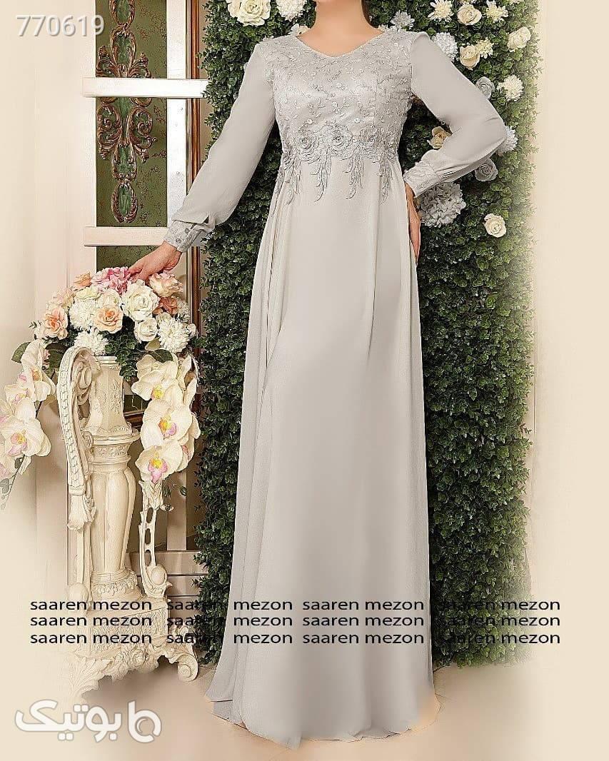 مدل عقد پارمیس سفید لباس عروس