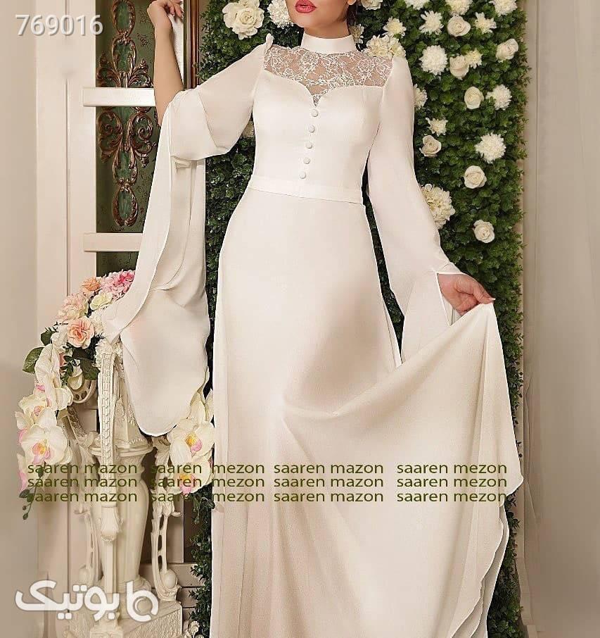 پیراهن زنانه  سفید لباس عروس
