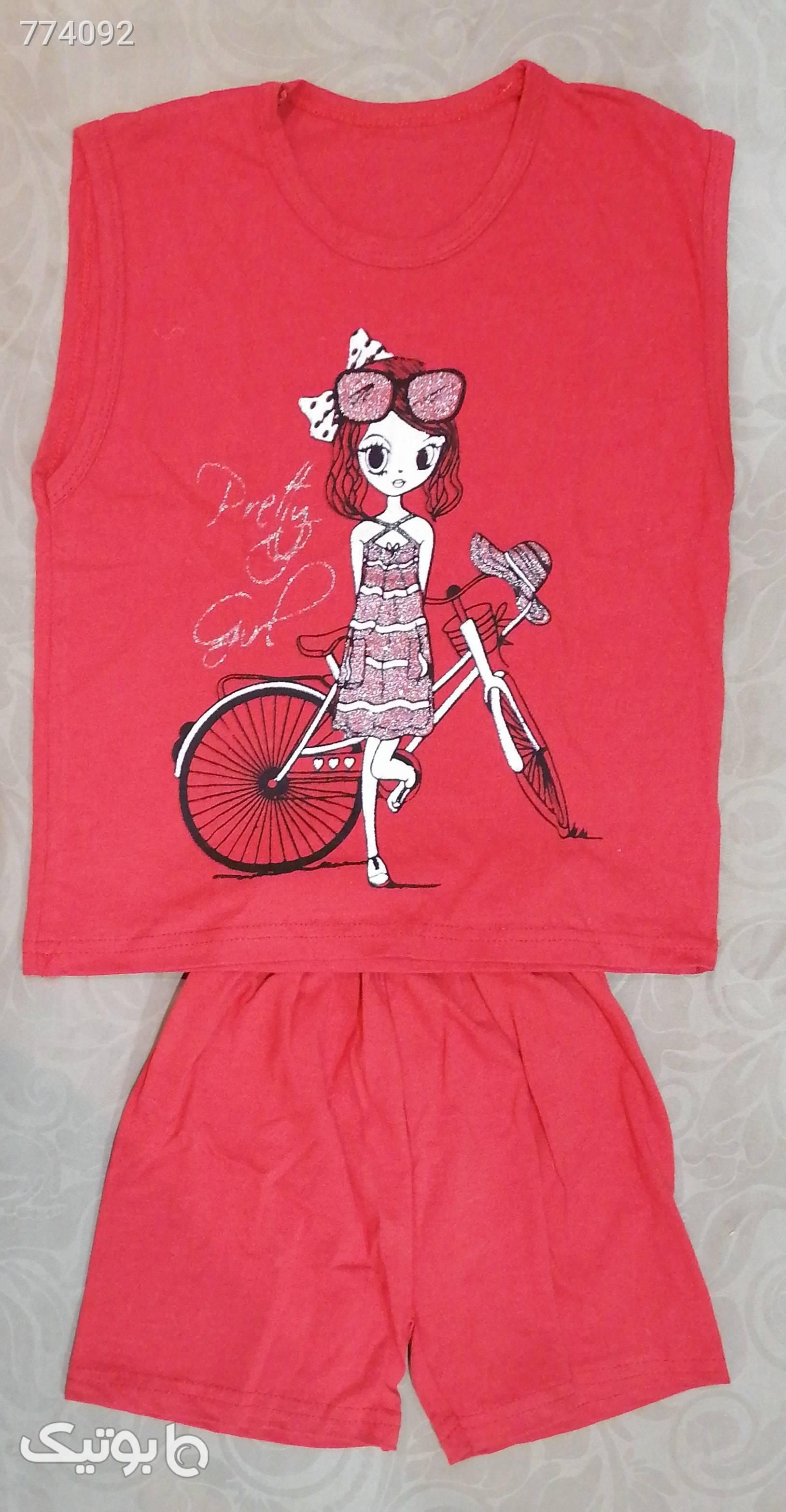 لباس دخترانه  نارنجی لباس کودک دخترانه