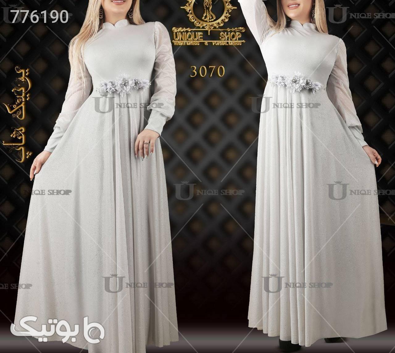 لباس مجلسی فیروزه ای لباس  مجلسی