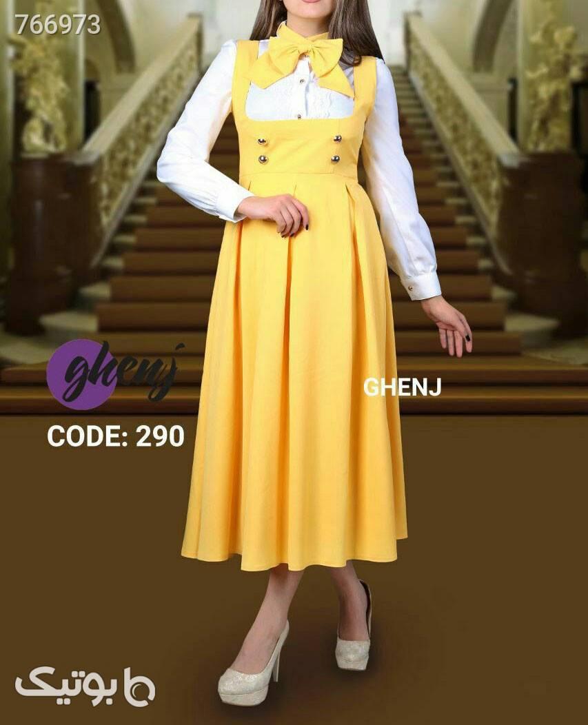 مجلسی پرنسس زرد لباس  مجلسی