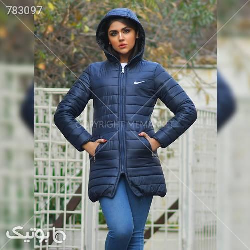 كاپشن دخترانه مدل RAYA سورمه ای کاپشن و بارانی زنانه