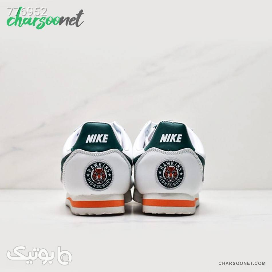 کفش اسپرت نایکی زنانه مدل Nike Cortez سفید كتانی زنانه