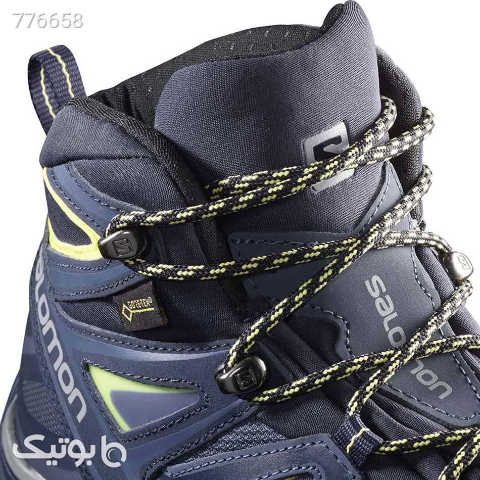 کفش کوهنوردی زنانه Salomon X Ultra 3 MID GTX W سورمه ای كتانی زنانه