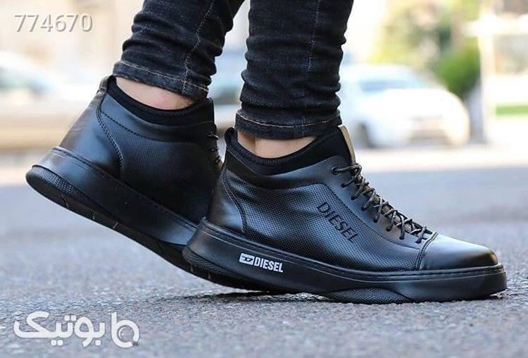 کفش مردانه اسپرت دیزل مشکی كتانی مردانه