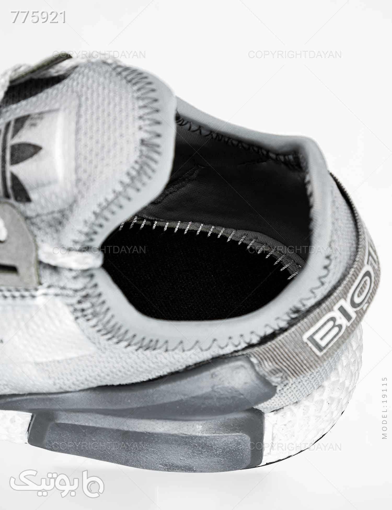 کفش مردانه Adidas مدل 19115 طوسی كتانی مردانه