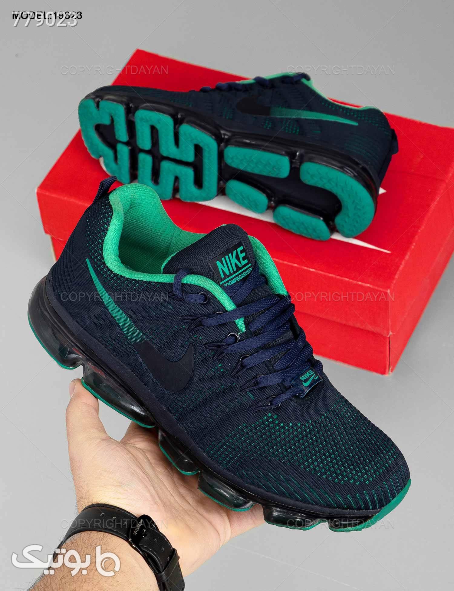 کفش مردانه Nike مدل 19323 سورمه ای كتانی مردانه