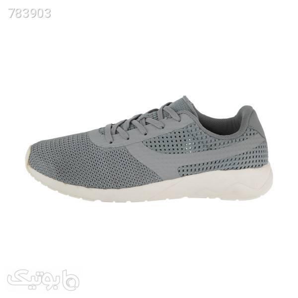 کفش پیاده روی مردانه لینینگ مدل AGCN0153B طوسی كتانی مردانه