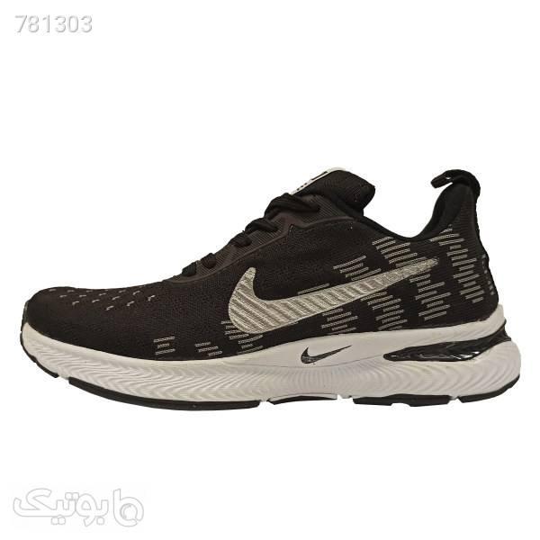 کفش پیاده روی مردانه مدل QX2 مشکی كتانی مردانه