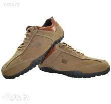 کفش اسپرت cat مدل 291 طلایی كفش مردانه