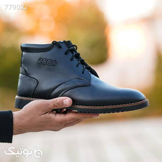 کفش ساقدار مردانه Bio مشکی كفش مردانه
