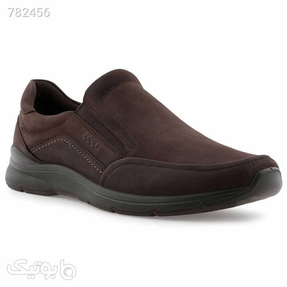 کفش مجلسی مردانه مدل Ecco Comfort Slipons کد 51171402178 قهوه ای كفش مردانه