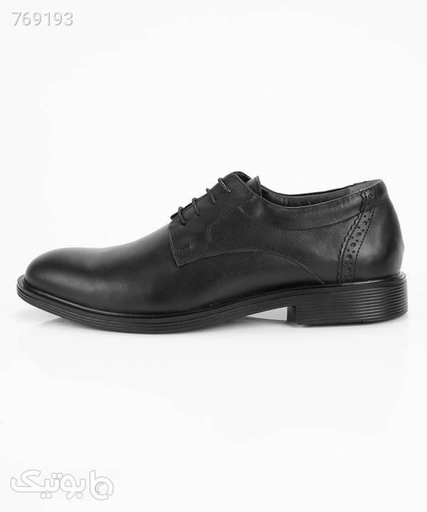 کفش مجلسی مردانه چرمیران Charmiran مدل طاهر مشکی كفش مردانه
