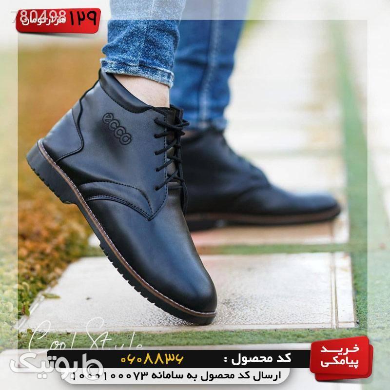 کفش مردانه ساقدار  قهوه ای كفش مردانه