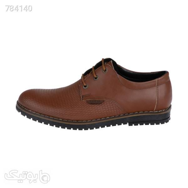 کفش مردانه سفیر مدل k.baz.087 قهوه ای كفش مردانه