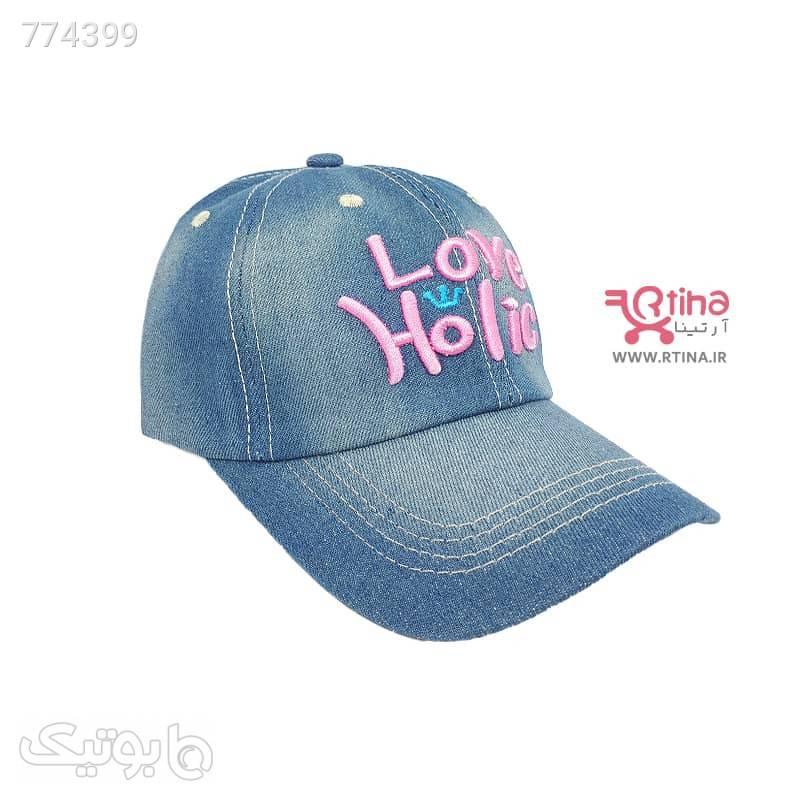 کلاه اسپرت لی دخترانه و زنانه مدل Love سورمه ای کلاه و اسکارف