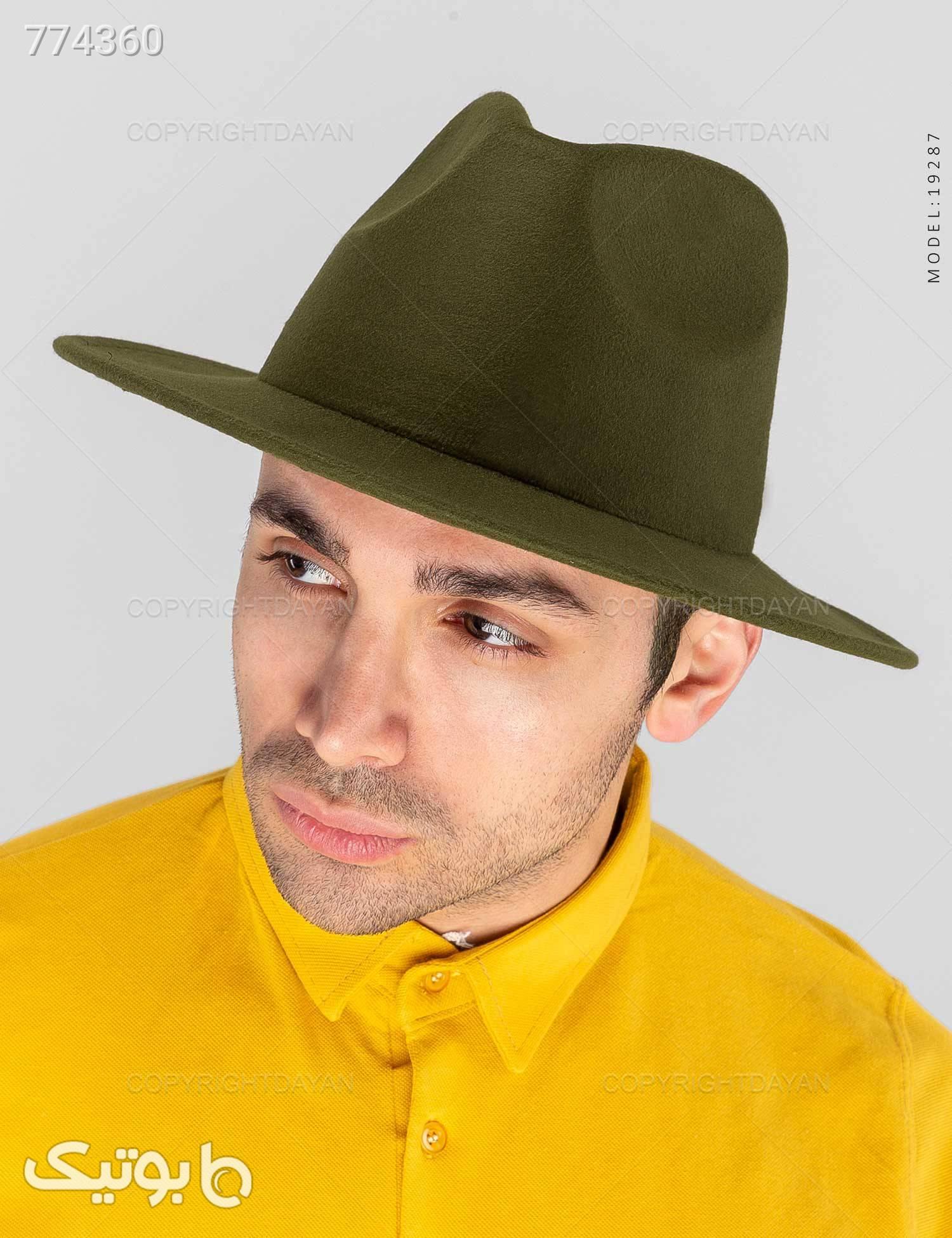 کلاه شاپو Kiyan مدل 19287 سبز کلاه و اسکارف