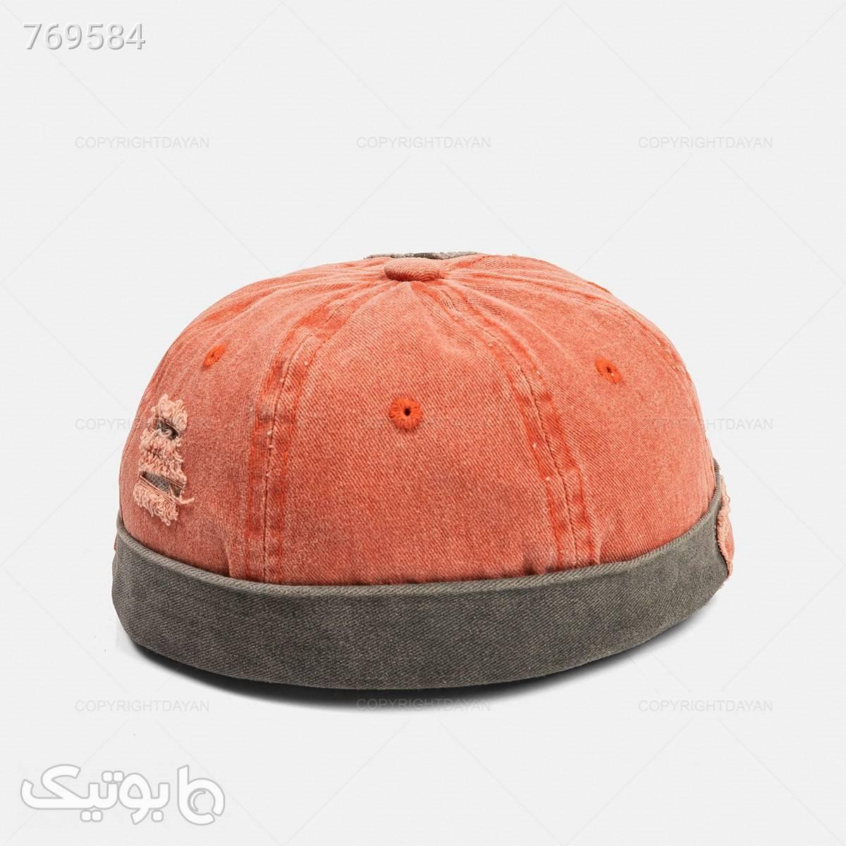 کلاه مردانه Kiyan مدل 19457   نارنجی کلاه و اسکارف