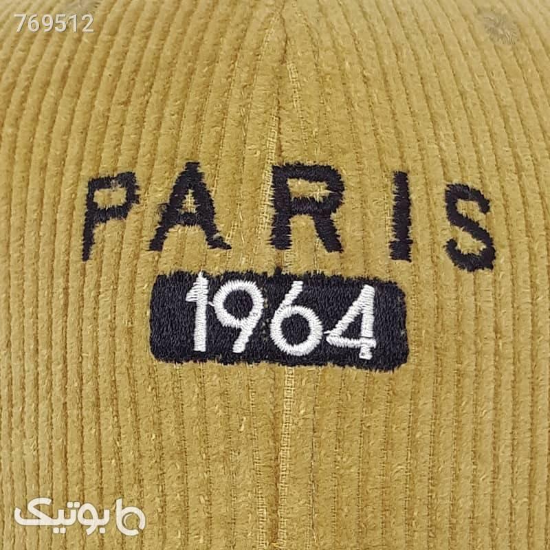 کلاه کپ مخمل کبریتی مدل paris صورتی کلاه و اسکارف