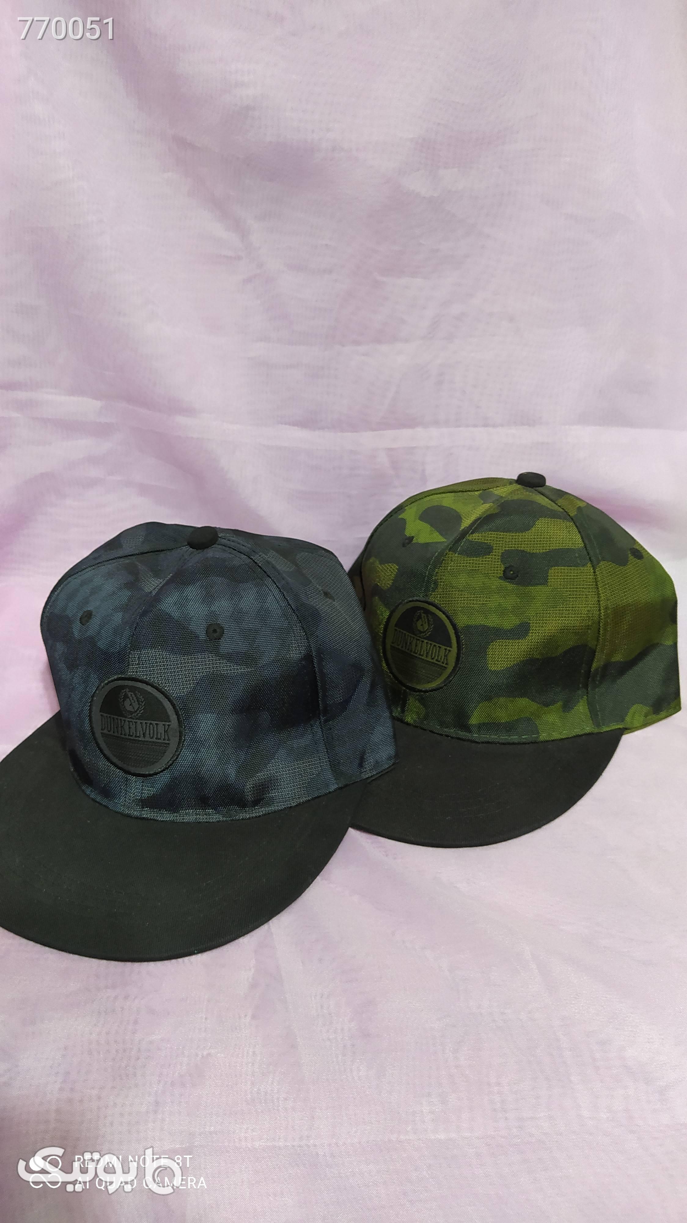 کلاه گپ اسپرت سبز کلاه و اسکارف