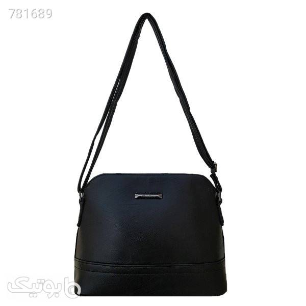 کیف دوشی زنانه مدل TA02 مشکی كيف زنانه