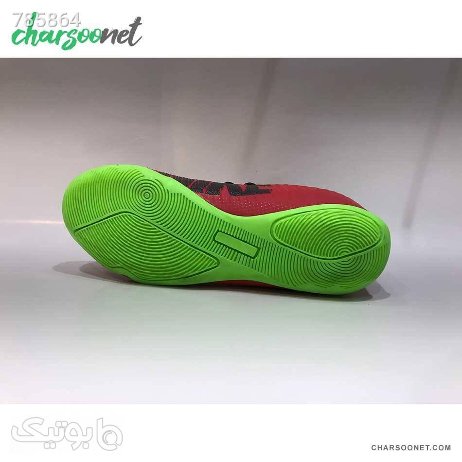 کتانی فوتسال نایکی Nike Mercurial قرمز کیف و کفش بچگانه