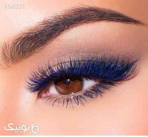 ریمل آبی - آرایش چشم