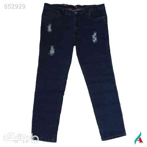 شلوار جین سایز بزرگ کد محصولshjy20217 - سایز بزرگ زنانه