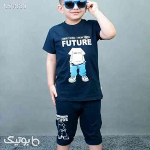 بلوز شلوارک پسرانه - لباس کودک پسرانه