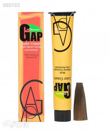 رنگ مو گپ Gap سری نسکافه ای حجم 100 میلی لیتر زرد آرایش مو