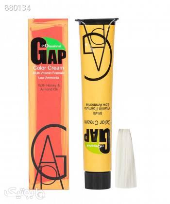 رنگ مو گپ Gap شماره 000 حجم 100 میلی لیتر زرد آرایش مو