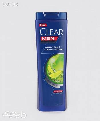 شامپو ضد شوره موی مردانه کلیر Clear مدل Deep Cleans  Grease Control حجم 400 میلی لیتر آبی بهداشت و مراقبت مو