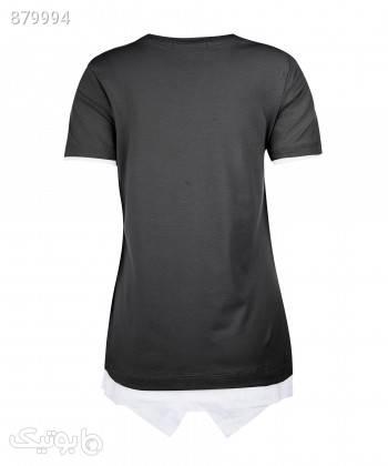 تیشرت زنانه جامه پوش آرا JPA کد 4012019439 مشکی تی شرت زنانه