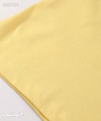 تیشرت زنانه جامه پوش آرا JPA کد 4012019473 زرد تی شرت زنانه