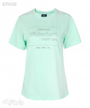 تیشرت زنانه وینترهارت WinterHart کد W2029003TS آبی تی شرت زنانه