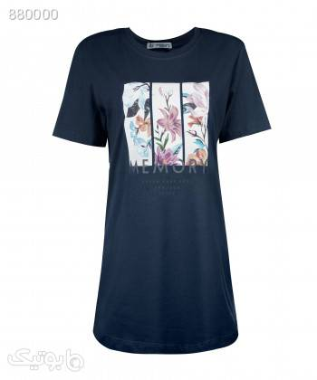 تیشرت نخی زنانه جامه پوش آرا JPA کد 4012019417 مشکی تی شرت زنانه
