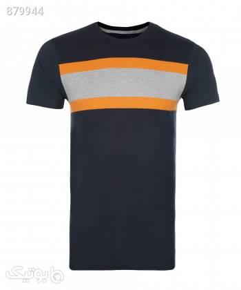 تیشرت یقه گرد مردانه جاستیفای Justify کد M0402027TS مشکی تی شرت و پولو شرت مردانه