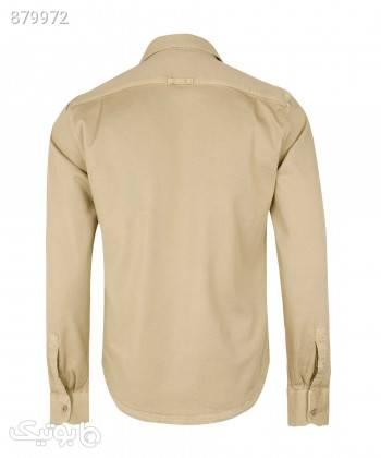 پیراهن کتان مردانه وینترهارت WinterHart کد M2002005SH کرم تی شرت و پولو شرت مردانه