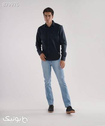 پیراهن کتان مردانه وینترهارت WinterHart کد M2002005SH مشکی تی شرت و پولو شرت مردانه